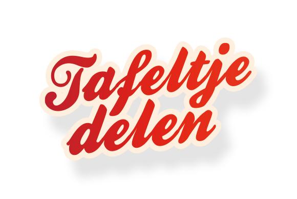 scribble design - portfolio - rode kruis amsterdam - tafeltje delen
